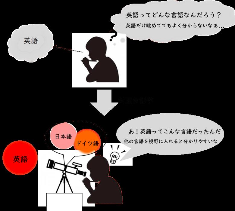 対照言語学図解